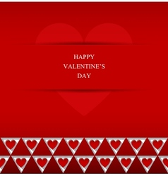 Valentines Day abstract background vector image vector image