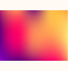 blurred mesh gradient background colorful smooth vector image vector image