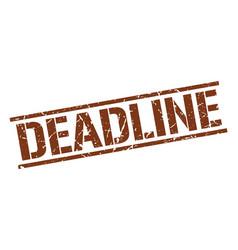Deadline stamp vector
