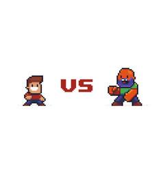 Pixel art versus vector