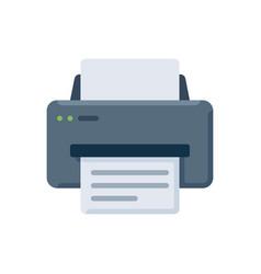 printer icon sign symbol vector image