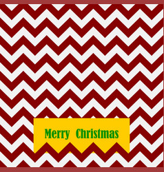 seamless christmas pattern with card and text vector image