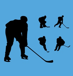 hockey collection vector image