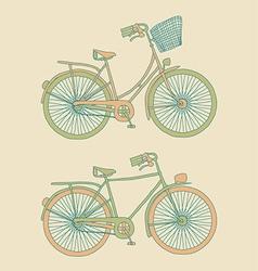 bici vector image vector image