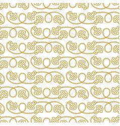 Seamless pattern marine theme vector