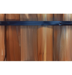 Wood planks background vector image vector image