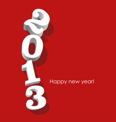 2013 text vector image