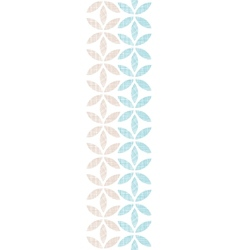Abstract textile leaves stripes vertical seamless vector image