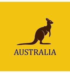 Australia kangaroo vector