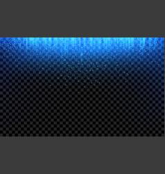Blue glitter fall glittery light background vector
