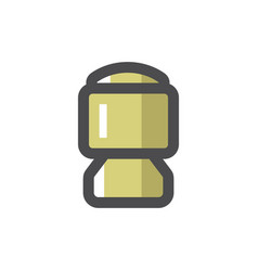 bullet gun cartridge icon cartoon vector image