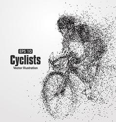 Cyclists particle divergent composition vector