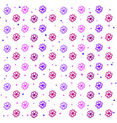 flowers wallpaper on white background vector image