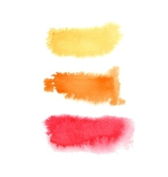 Hand drawn watercolor background vector image