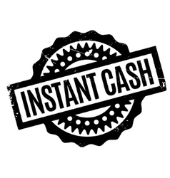 Instant Cash rubber stamp vector