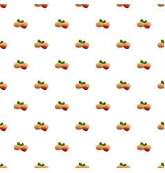 peanut pattern seamless vector image