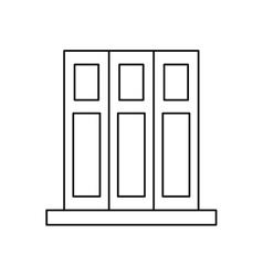 Pictogram set book folder office elements design vector