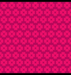 Pink flora pattern background vector