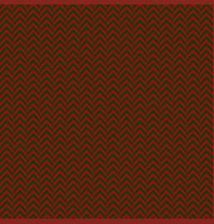 red green herringbone decorative pattern vector image