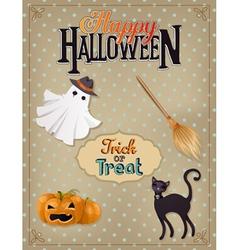 halloween 6 vector image