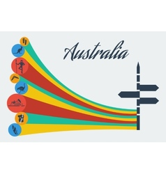 australia safari vector image