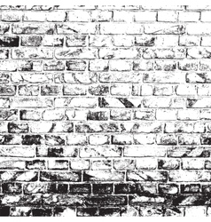 Dirty brick wall vector