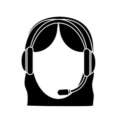 Customer support Icon image vector