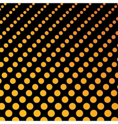 Dotted background pattern vector image
