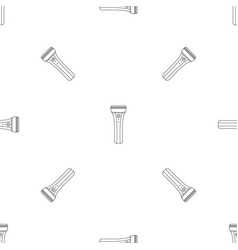 Electric razor pattern seamless vector
