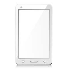 New white smartphone vector