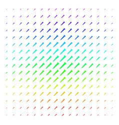 Screw shape halftone spectral grid vector