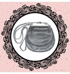 Bag Pencil hand drawn drawing vector image