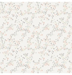 seamless pattern of colorful crooked rings vector image vector image