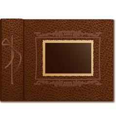 Skin cover a photo album vector image vector image