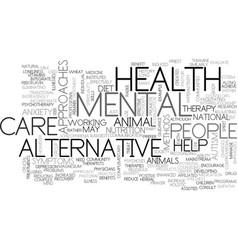 Alternative medicines why the silence text word vector