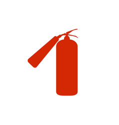 fire extinguisher icon fire extinguisher sign vector image