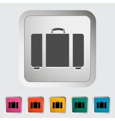 Suitecase vector image vector image