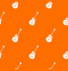 classical guitar pattern seamless vector image