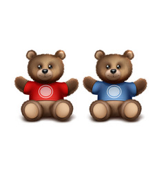 Gift bears vector