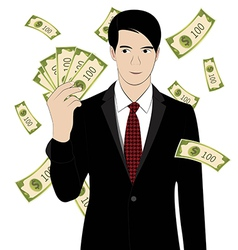 Hold money vector