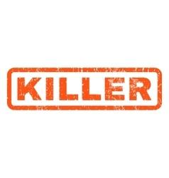 Killer Rubber Stamp vector