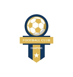 Soccer Football Badge vector image