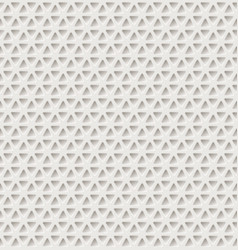 triangle holes pattern vector image
