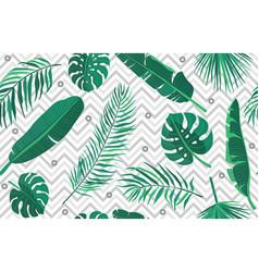 tropic seamless pattern geometric modern endless vector image