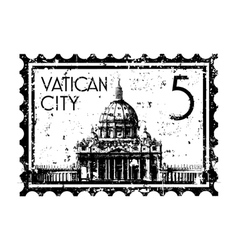 Vatican icon vector