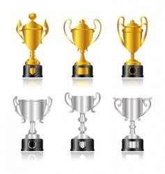 award set vector image