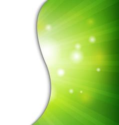 Green Wall With Bokeh vector image