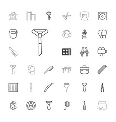 33 professional icons vector