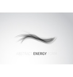 Abstract modern energy form trace background vector