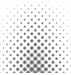 Black and white geometric pattern - background vector